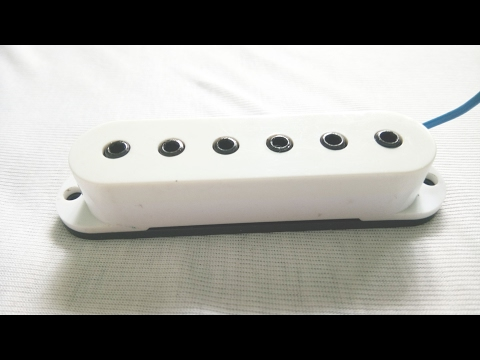 How To Make Cheap Guitar Pickups Sound Great and Look Great Too