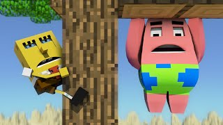 """Spongebob in Minecraft 3"" - Animation"