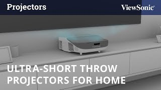 ViewSonic Ultra-Short Throw Projectors for Home