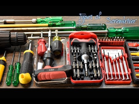 Types of Screwdrivers and their uses | DIY Tools