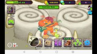 Playing my singing monsters