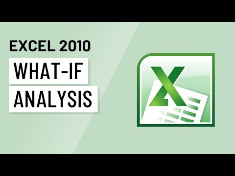 Excel 2010: What-If Analysis