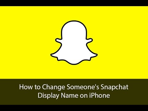 How to Change Display Name of Your Snapchat Friends on iPhone