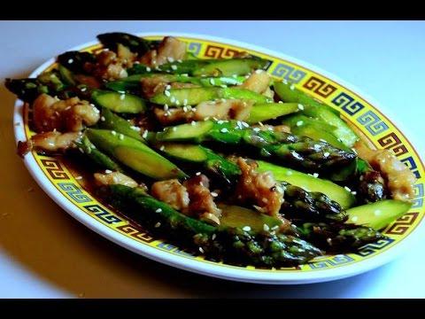 Stir Fry Chicken Asparagus in Hoisin Sauce