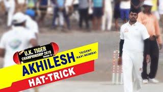 Akhilesh (Trident, Navi Mumbai) Hat-Trick in UK Tiger Championship 2019, Ghatkopar, Mumbai