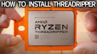 Threadripper CPU Installation Guide! How Socket TR4 Works