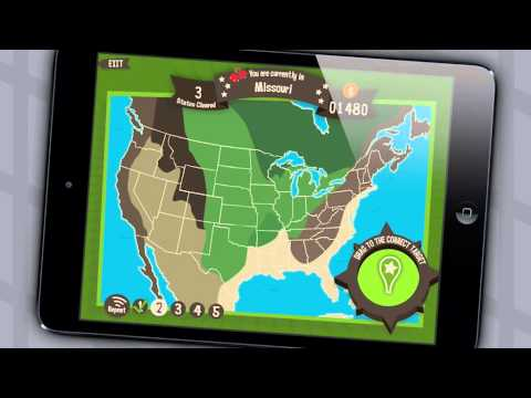 Geography Drive USA: 50 U.S. States & Capitals Trivia Game