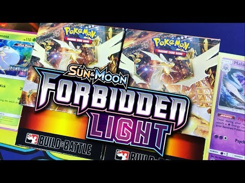 Forbidden Light Pokemon Prerelease Deck Building with Andrew and Natalie