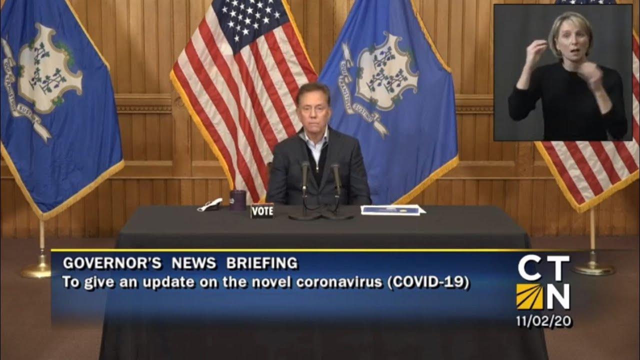 Governor Lamont's November 2, 2020 4PM Coronavirus Update