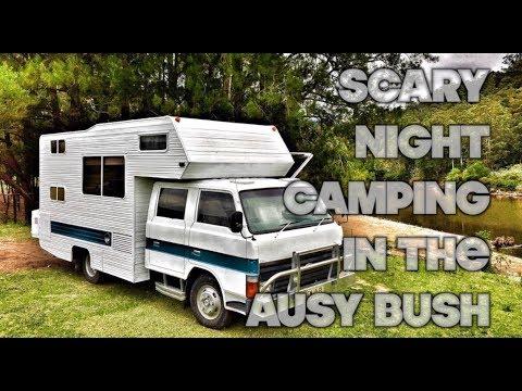 FREAKY NIGHT FREE BUSH CAMPING KANGAROO VALLEY NSW ( MUST SEE CAMPING AUSTRALIA!)