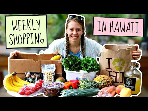 My weekly grocery SHOPPING in HAWAII! + PRICES on the Big Island
