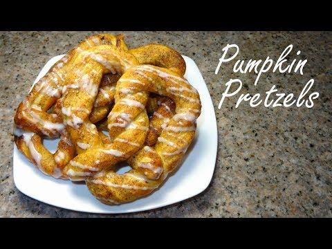 Pumpkin Soft Pretzels - Homemade Pretzels