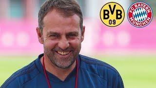 Alle Infos zum Spitzenspiel! Cyber-Pressetalk mit Hansi Flick | Borussia Dortmund - FC Bayern