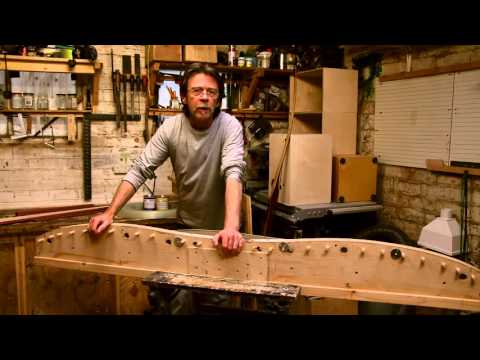 Bow Building – Fiberglass Backed Laminated Flat Bow – Part 1 of 8