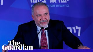 Israeli election: Possible kingmaker Avigdor Lieberman calls for unity government
