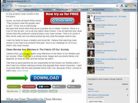 Article Marketing Training #8 - Ping Your Published Articles