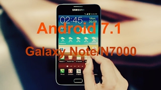 Samsung Galaxy Note N7000 Update Lollipop