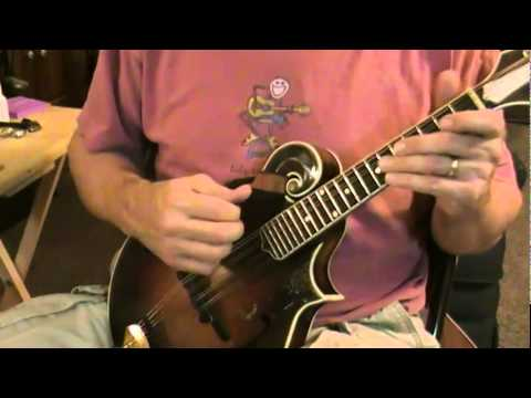 Mandolin -- Easy G major scale exercise #1