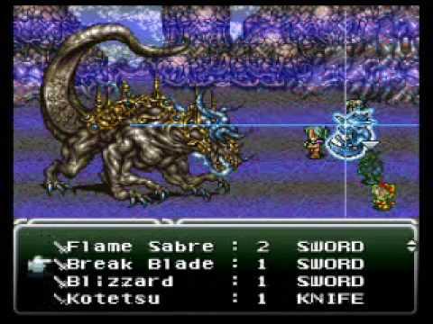 Final Fantasy VI - Atma Weapon Boss 20