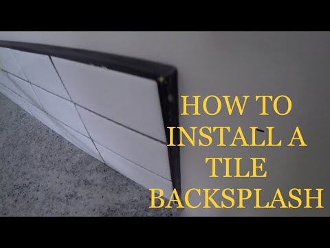 INSTALLING MOSAIC TILE BY YOURSELF QUICK & EASY