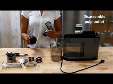 How to disassemble the Philips Avance Masticating Juicer