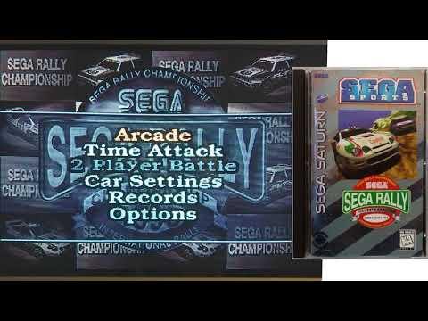 Sega Rally Championship Arcade Select Menu Music Sega Saturn [real hardware]