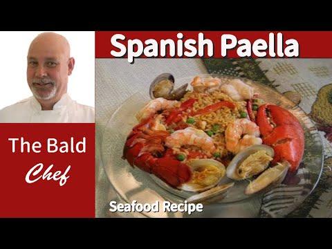 Great Spanish Paella Seafood Recipe