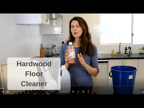 DIY Natural Hardwood Floor Cleaner