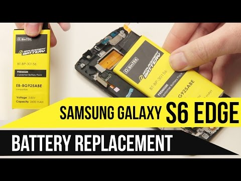 Galaxy S6 Edge Battery Replacement Video Guide