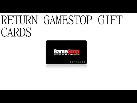 How to Return Gift Cards to GameStop!   Captured on Audio! Gecko Guy-