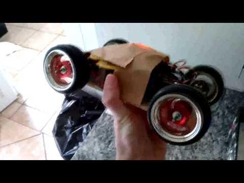 Homemade 4x4 Brushless Motor RC Car