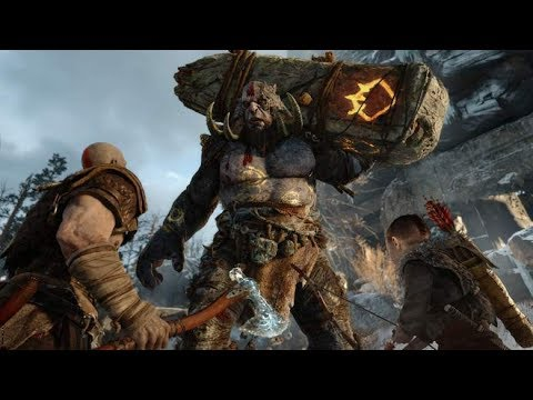 God of War 2018 PS4 Pro Part 1