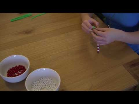 How to: make candy cane Christmas decorations