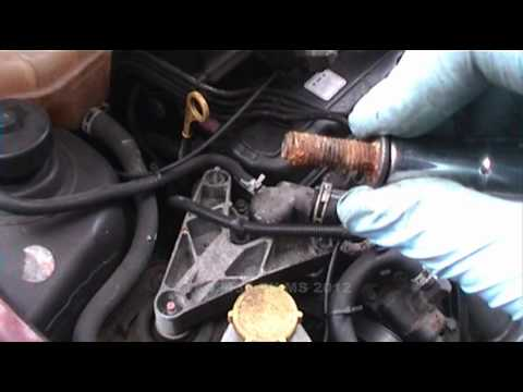 Thermostat removal on a Fiesta 1.3 (Endura-E engine Oct 1995 - Mar 2002)