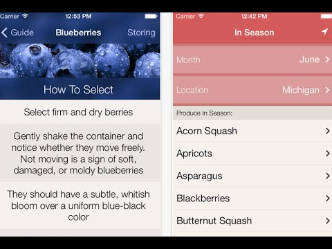 Food Guide Apps for iPhone & iPad