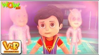 Vir The Robot Boy | Hindi Cartoon For Kids | Nakli aliens | Animated Series| Wow Kidz