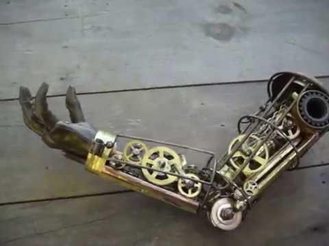 Steampunk Mechanical Arm, Latest Version