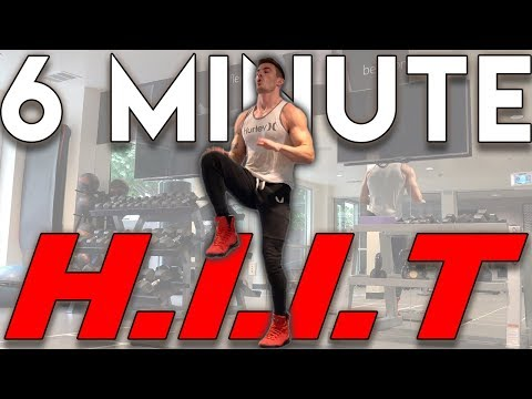 Full Body HIIT Workout in 6 Minutes | How to Burn Calories Fast