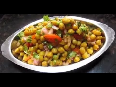 White Channe ki Chaat(Chick Pea Chaat)