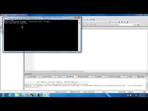 C++ Tutorial Compiling and Running The C Program in Hindi Part 02