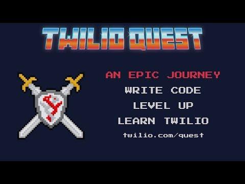 Introducing TwilioQuest!