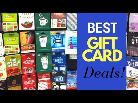 How to SAVE MONEY CHRISTMAS SHOPPING | Best Deals on Gift Cards 2017 | CleanCutCouponing