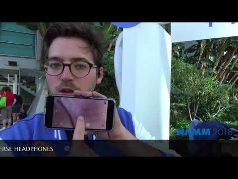 Making Music Mag/NAMM 2018 PRroduct Spotlight: Hooke Audio: Verse 3D Binaural Headphones
