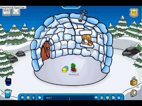 How to throw snowballs really fast on club penguin