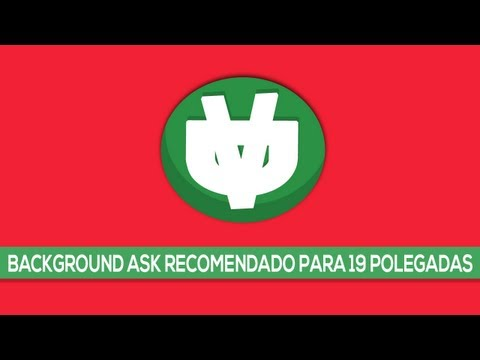 TUTORIAL : Como criar um background ask.fm (recomendado para monitor 19polegadas)