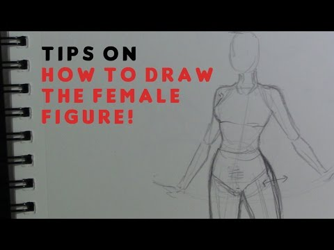 How To Draw The Female Body Figure