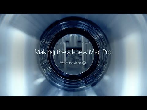 Production of the all-new Mac Pro 2013!