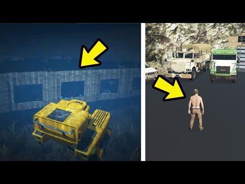 O que tem no Esconderijo secreto do Trevor no fundo do mar? gta 5