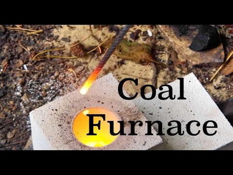 How To Make A Mini Coal Furnace With Fire Bricks
