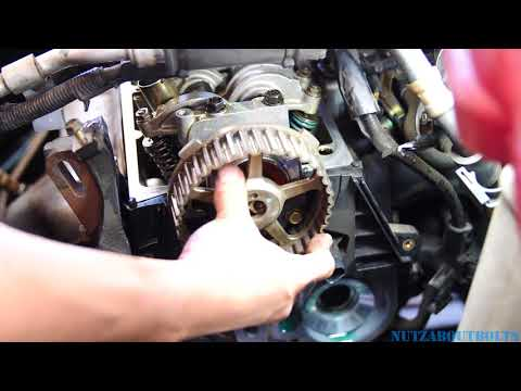 2001-2005 Honda Civic Timing belt replacement part 2